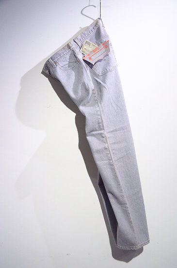 DEADSTCOK 90s Vintage Levi's 501 Gray Denim Pants Made in USA リーバイス 501 デニム