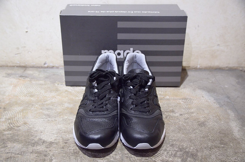 New Balance M997 BISON LEATHER PACK Black MADE IN USA.ニューバランス 997 バイソンレザー