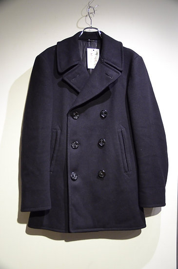 50s Vintage U.S NAVY Wool Melton 8 Button PeaCoat アメリカ軍 ピーコート