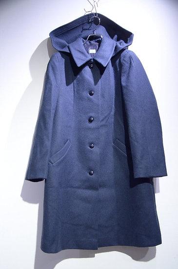 DEADSTOCK 72s Vtg Swedish Army Melton Coat Made in Sweden スウェーデン軍 メルトンウールオーバーコート