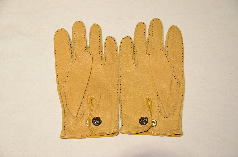 DENTS Peccary Leather Gloves Unlining Coak made in UK デンツ ペッカリー レザーグローブ