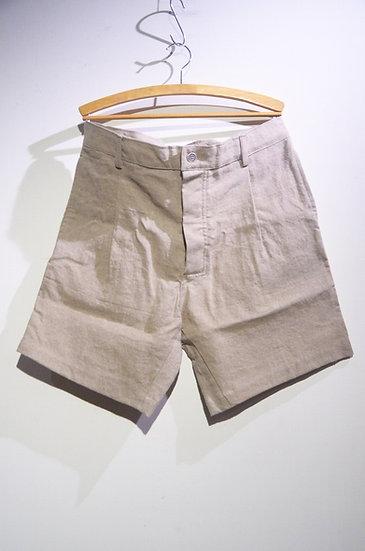 Prosac Vintage Linen Bermuda Shorts Beige HandMade in Italy プロザック ヴィンテージリネンショーツ