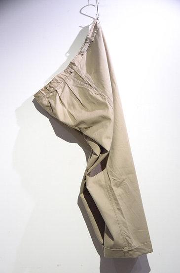 """Vintage 1950's British """"Lybro"""" Khaki Drill Trousers ヴィンテージ カーキドリル ワーク トラウザース"""