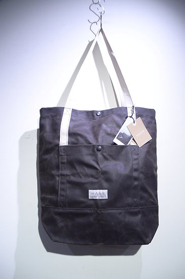 HAAR Waxed Canvas Cotton Tote Bag Made in Scotland ハースコットランド ワックスドキャンバス トートバッグ