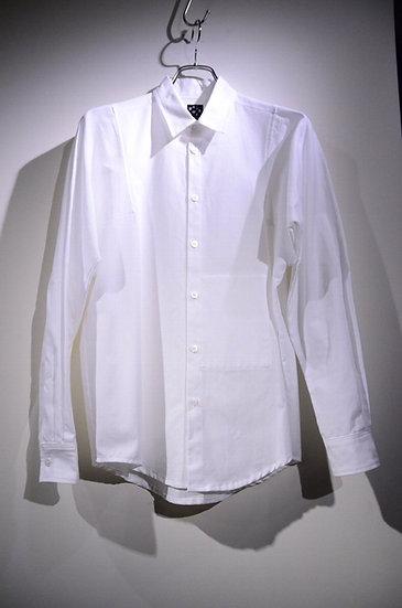 ハイク ノルウェー 白シャツ シャツ デザイン レギュラーカラー デザイナーズ