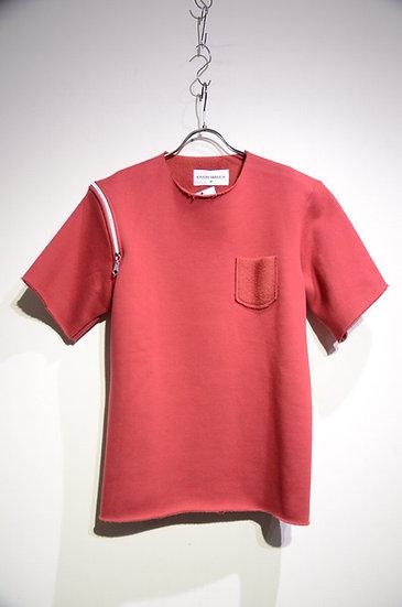karimmaher カリムメイハー スウェット ジップ モード デザイン ファッション 半袖 イギリス エジプト製