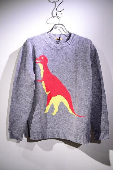 ピーターイェンセン ダイナソー 恐竜ニット ウール イギリス
