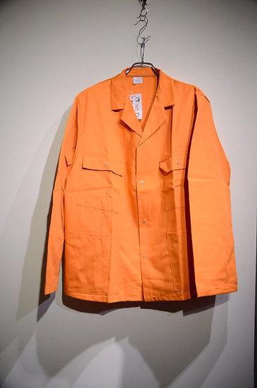 DEADSTOCK 70-80s S.Beeny ORANGE Drivers Jacket Made in UK イギリス製 ワーク ドライバーズジャケット
