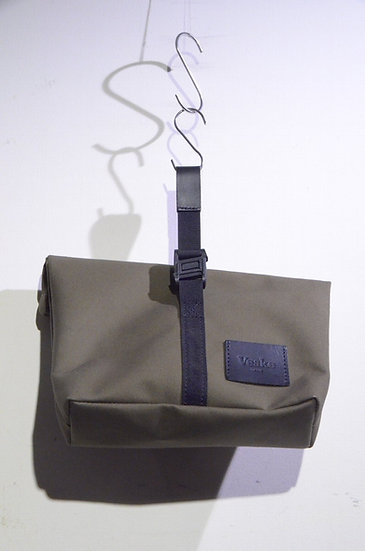 """VESKE BAG """"The Usan Utility Pouch"""" BAG KHAKI HandMade In Scotland ヴェスケバッグ ポーチバッグ"""