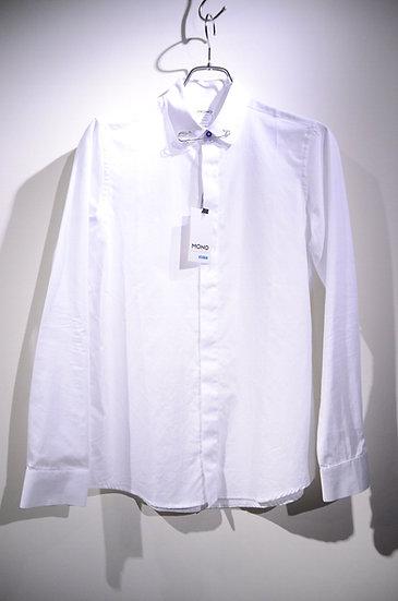 モノプロジェクト シャツ ピンカラー ドレス ニードル