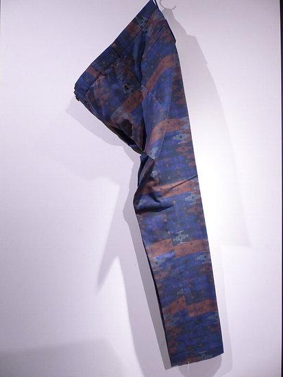 Percival Menswear Kilim Print trousers パーチバル キリムプリント トラウザー