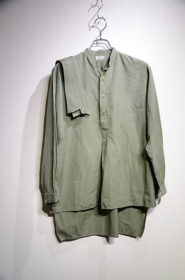 40 - 50s Flights LTD Cotton poplin pullove Shirts Made in UK イギリス軍 シャツ
