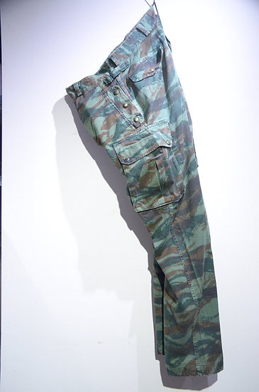 French Airborne Paratrooper Lizard Camo HBT 47/56 Pattern Trousers フランス軍  リザードカモ