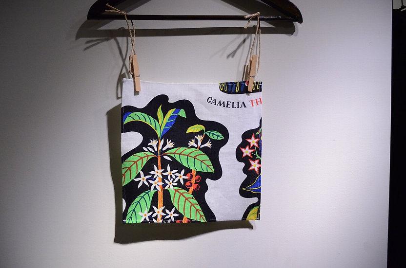 スヴェンスクテン バンダナ ポケットチーフ リネン テキスタイル ユセフフランク デザイン アクセサリー