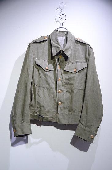 DEADSTOCK Vintage 1952 British Military GREEN DENIM Jacket イギリス軍 グリーンデニム ジャケット