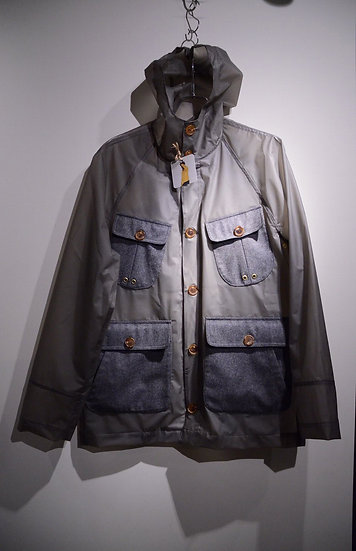 BEE Outerwear Ghost MAC COAT Handmade in London ビーアウタ-ウェア コート