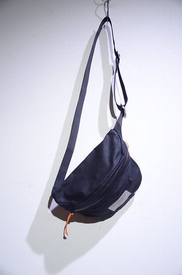 "Trakke Bag ""Banana"" BLACK Hand Made In Scotland トラッケバッグ ウエストポーチ"