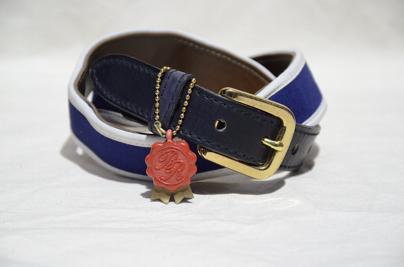60 - 80s Womens HICKOK PIONEER Canvas Leather Belt Made in USA ハイコック パイオニア ベルト