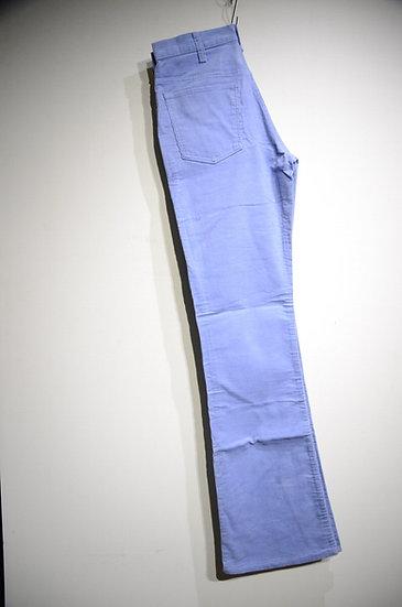 リーバイス パンツ トラウザーズ コーデュロイ フレア ヴィンテージ ブルー ワーク アメリカ製 デッドストック