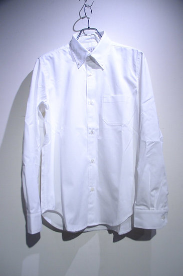 HAAR SCOTLAND Button Down White Shirt Made in Scotland ハースコットランド ボタンダウン B.D. シャツ