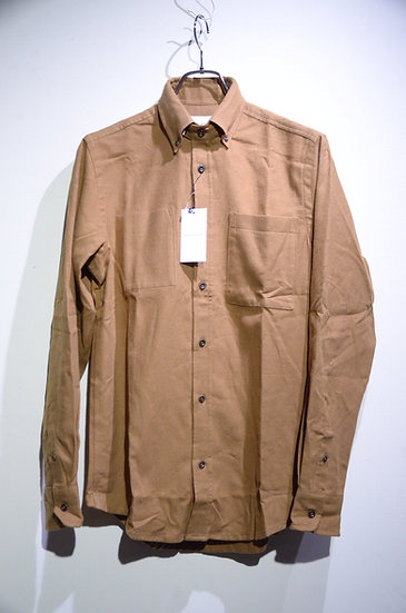 Tripl Stitched Brushed Cotton twill BG Shirt  Made in London トリプルステッチワークシャツ
