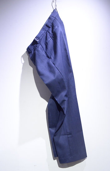 Used British Royal Air Force RAF No2 Dress Polywool Trousers イギリス空軍 ブルーグレー スラックス