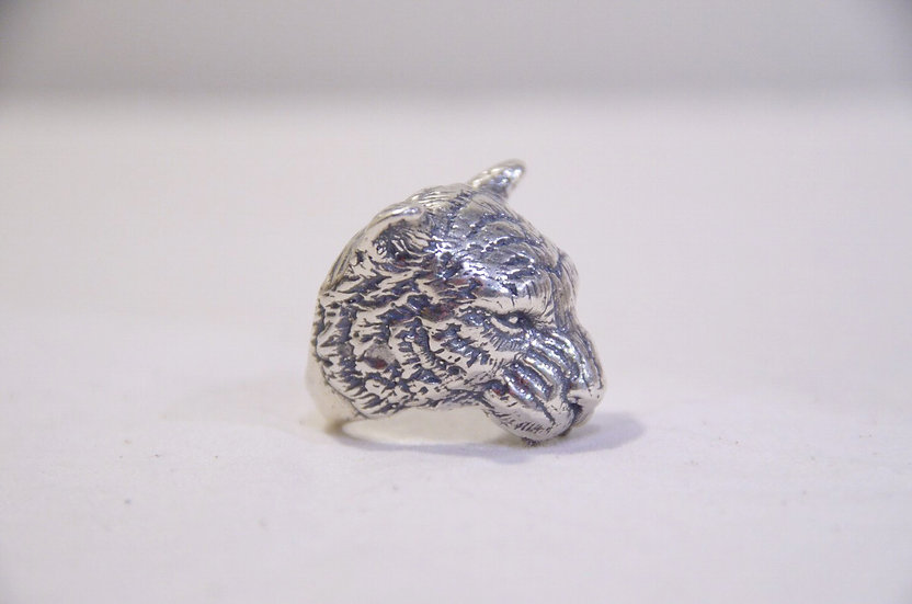 L A S Jewelry Tiger Ring SILVER Made in Los Angeles ラスジュエリー シルバー タイガー リング