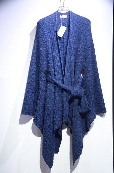 John Smedley Knitted Cape Cardigan Jacket ADA Made in UK ジョンスメドレー カーディガン ジャケット