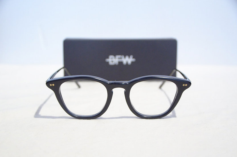 Banton Frameworks Type C BLACK Handmade in Scotland バントンフレームワークス イギリス製 黒ぶち 眼鏡