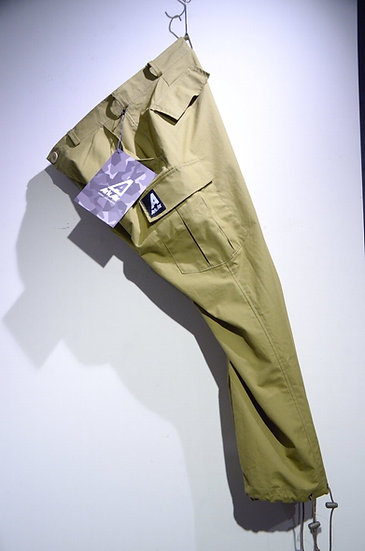 Ark Air Unlined Combat Trousers Khaki Made in England アークエア コンバット カーゴ トラウザーズ