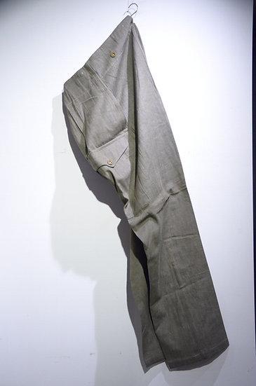 DEADSTOCK 1951 British Army GREEN DENIM Size 9 Trousers イギリス軍 グリーンデニム トラウザース