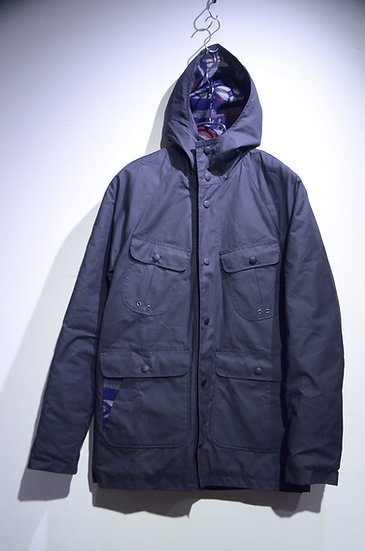 BEE Outerwear Waxed Signature Jacket Made in UK ビーアウターウェア ワックスコットン フーディジャケット