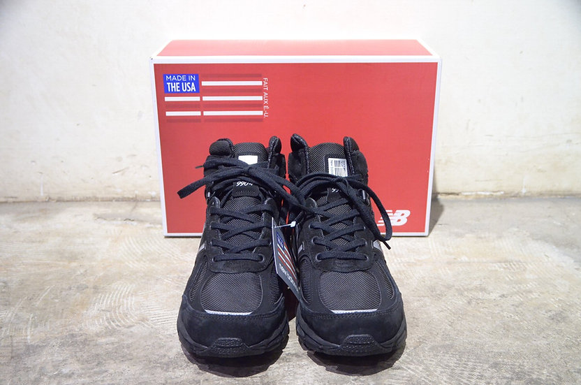 New Balance MO990v4 BLK MID CUT MADE IN USA ニューバランス ミッドカット