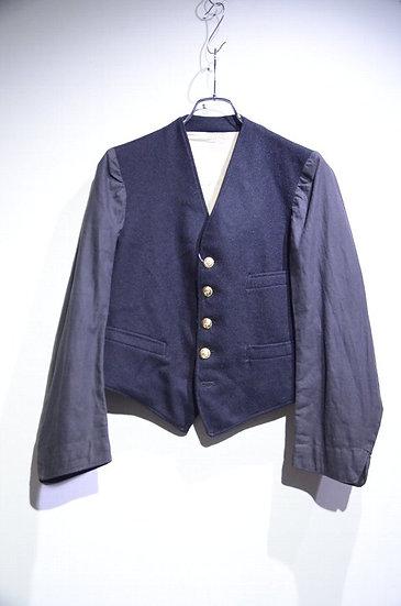 Used Vtg 1962s British Railroad Vest Jacket BLK Made in UK イギリス レイルロードジャケット