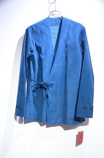 Sartori A brothers story Corduroy Blue Kimo Shirt Handmade in Italy サルトーリ キモノシャツ