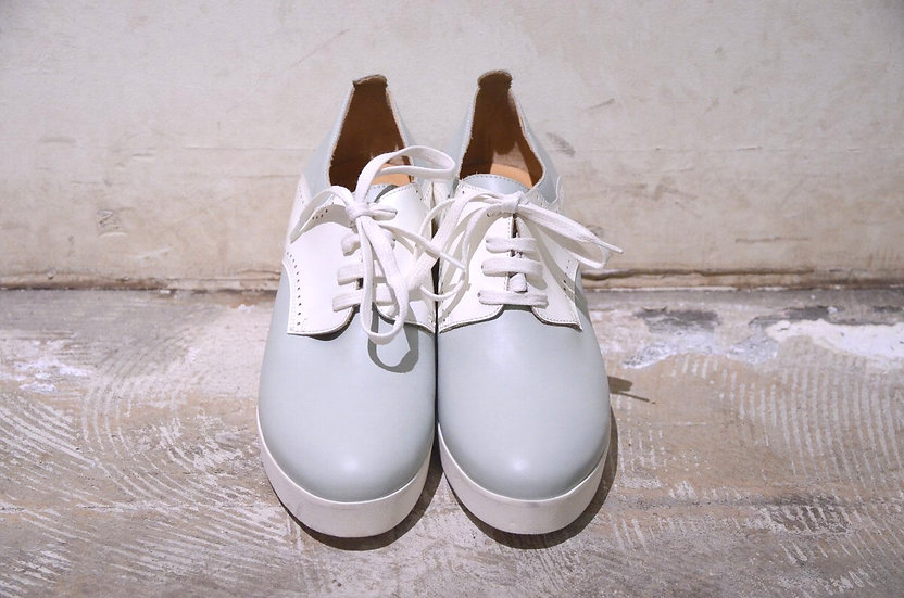 Maison Martin Margiela MM6 Lace Up Wedges Casual Shoes Made in Italy メゾンマルジェラ