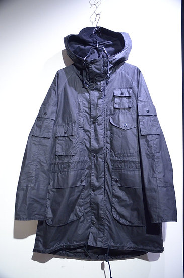 BARBOUR X ENGINEERED GARMENTS Zip Parka Jacket Made in England エンジニアードガーメンツ バブアー