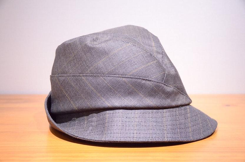Karen Henriksen 'Garbo' Stripe Wool Hat Handmade in London カレンヘンリクセン ウールストライプハット