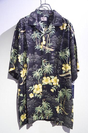 DEADSTOCK 90's Aloha Hut Tropical Rayon Hawaiian Shirt Made In USA レーヨン シャツ