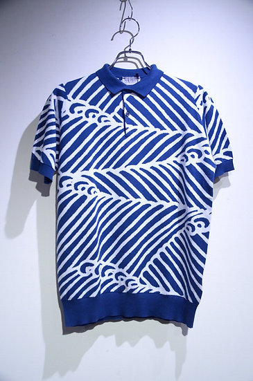 John Smedley Sea Island Cotton Abbington Polo shirt ジョンスメドレー ニット ポロシャツ