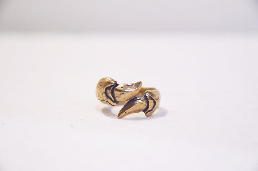 L A S Jewelry Claw Ring Made in Los Angeles ラスジュエリー クロウリング