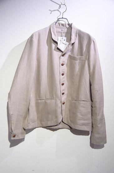 Prosac Italian Linen Walnut Sack Jacket HandMade in Italy プロザック リネン サックジャケット