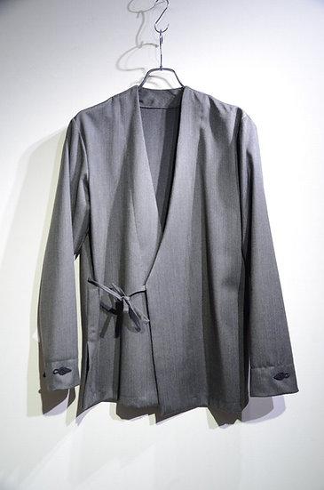 Sartori A brothers story Stripe Wool Kimo Shirt Handmade in Italy サルトーリ キモノシャツ