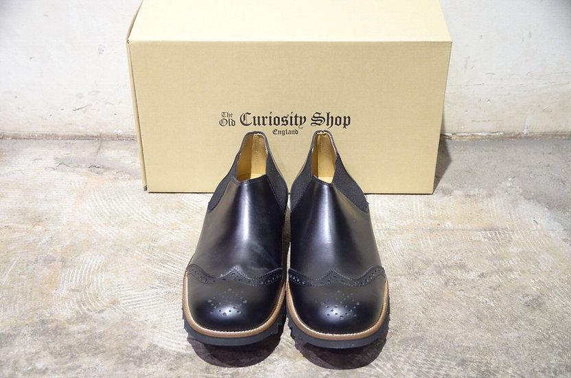 the old curiosity shop Short Side Goa Boots Black オールドキュリオシティショップ サイドゴア ブーツ