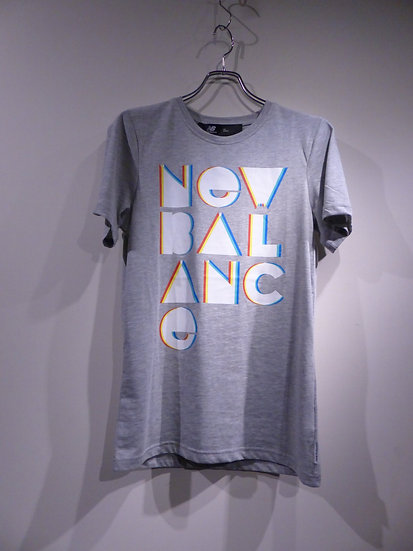 New Balance Font Print T-shirts Made in Turkey ニューバランス プリントTシャツ
