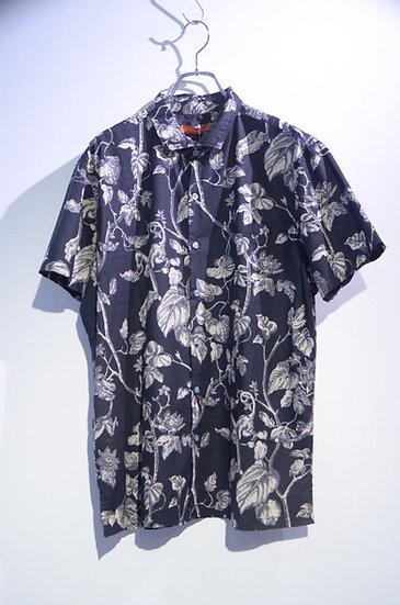 USED 80's Tori Richard Monkey & Tree Shirts Made In Hawaii ヴィンテージ プリント 半袖シャツ
