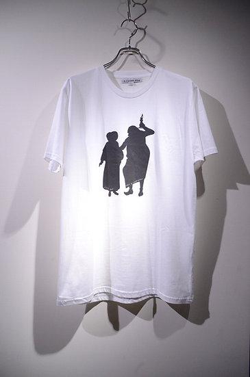 Tシャツ プリント ファッション 半袖 イギリス キャラクター