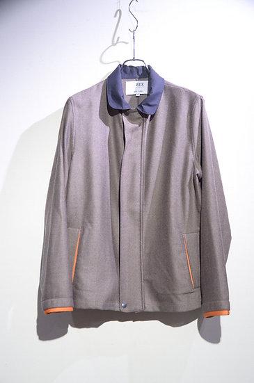 BEE Outerwear Tweed Harringbone Jacket Brown London Made ビーアウターウェア ヘリンボーンジャケット
