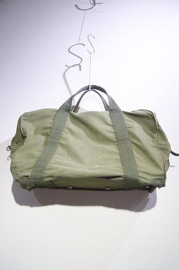 Used 70 - 80s British Military Holdall Boston Bag GREEN イギリス軍 ホールドオール ボストンバッグ