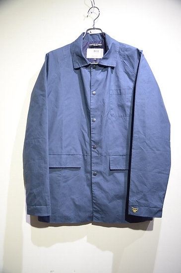 BEE Outerwear Dry Waxed Coach Jacket Made in London ビーアウターウェア ワックスコットン コーチジャケット